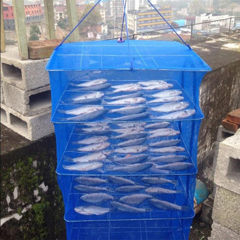 Foldable Drying Fish Net