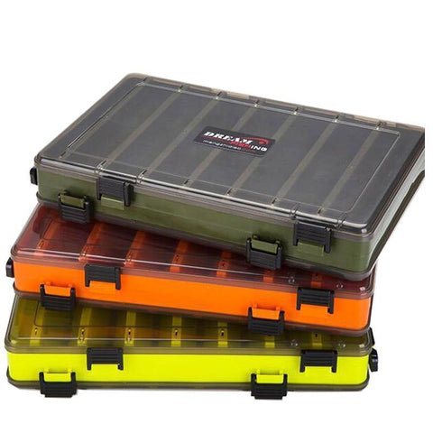 Double Sided Fishing Tackle Box