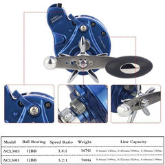 Casting Sea Fishing Reel