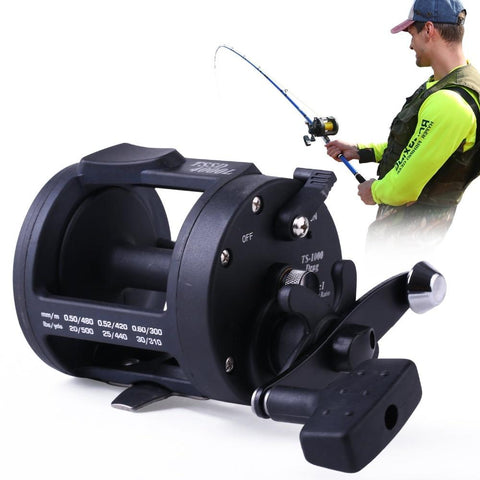 Baitcasting Coil Fishing Reel