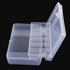 Portable Transparent Tackle Box