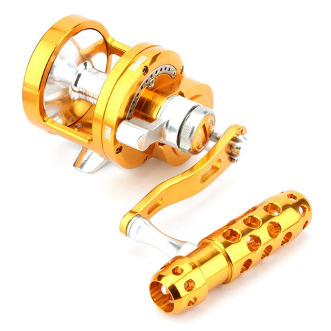 HOT-Full Metal Saltwater Jigging Reel Left/Right Hand 7+1BB Super Power 30Kg Big Game Sea Drum Casting Trolling Reels-SY70 Sin