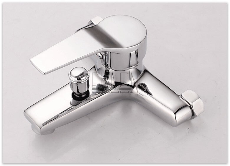 Wall Mounted Single Holder Dual Control Bath & Shower Faucet