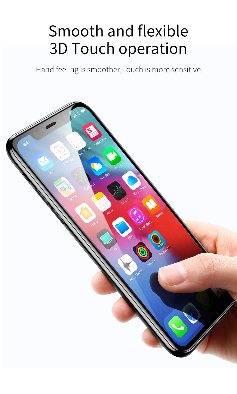 Good Quality Screen Protector Tempered Glass for iPhone Xs Max X Xr