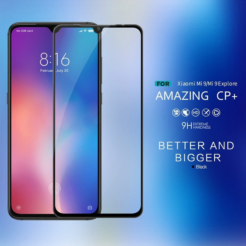 Super Thin Tempered Glass Screen Protector for Xiaomi mi 9