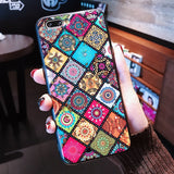 ELEGANT Multi-Color Grid Phone Case for Samsung Galaxy S10 S8 S9 Plus Samsung Note 9 8 10