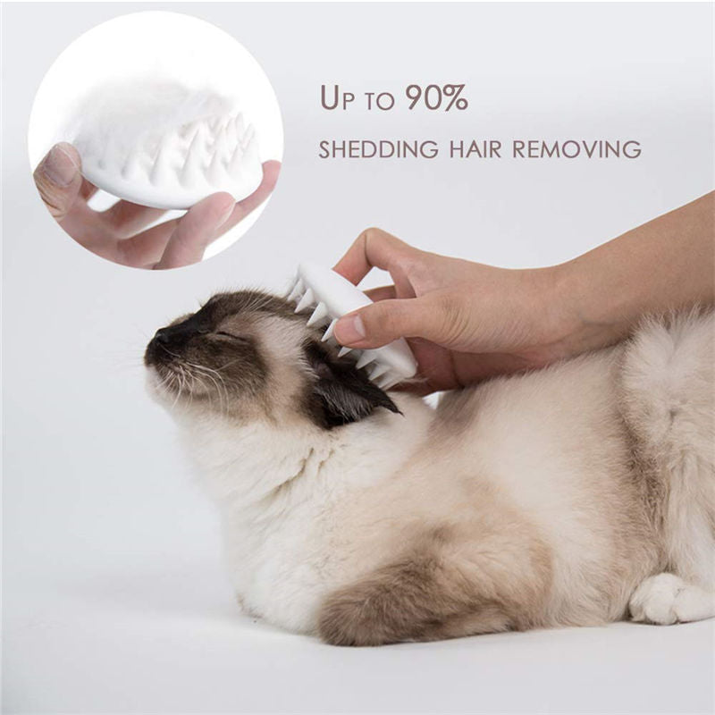 Up to 90% Shedding Hair Removing Cats Grooming Massage Device