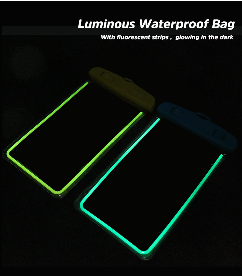 TOP SELLING Waterproof Transparent Phone Case Bag Pouch for iPhone XR Huawei Xiaomi