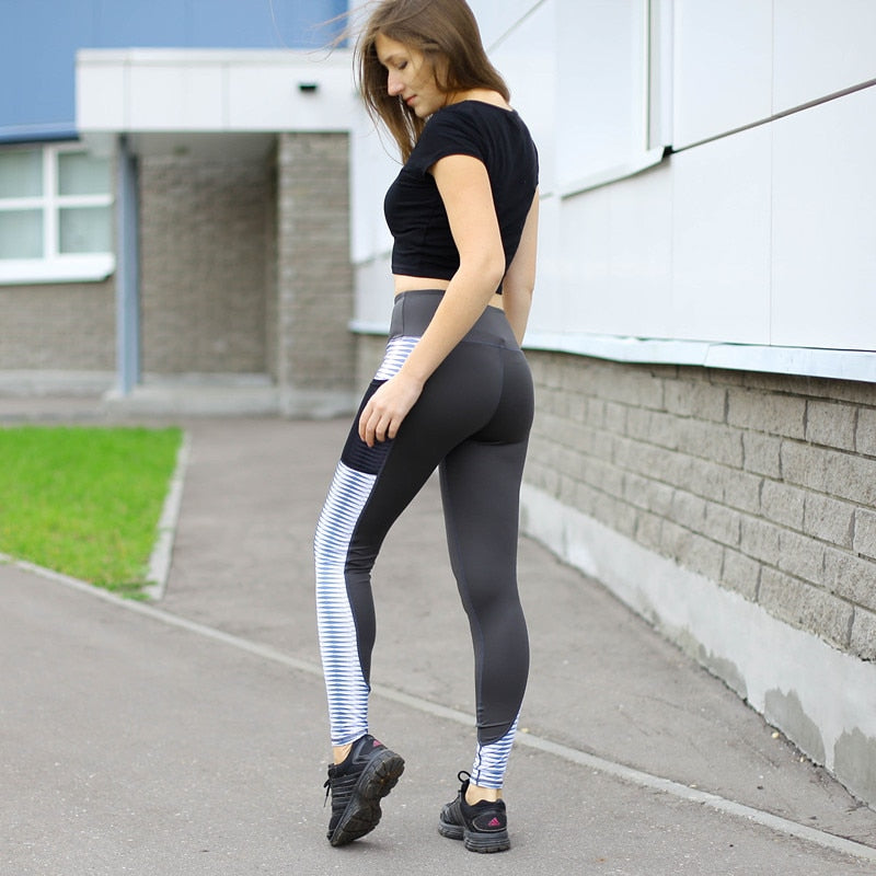 High Waist Push Up Activewear Leggings for Women