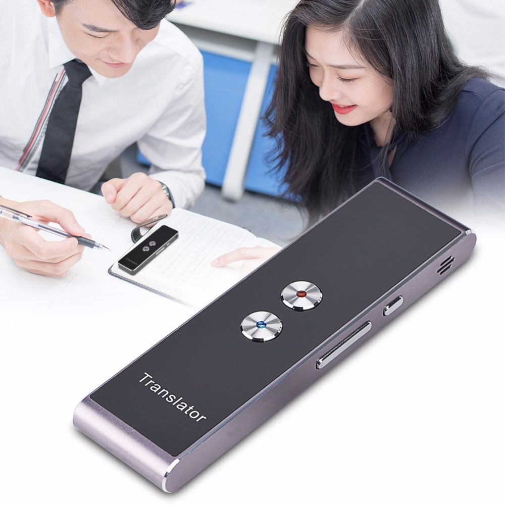 HOT SELLING 3 in 1 Smart Voice Translator + Text Translation for Business Meeting