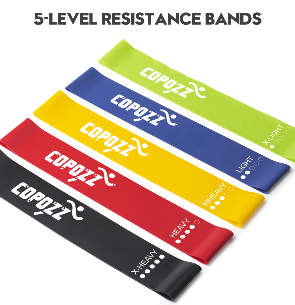 IN DEMAND Resistance Elastic Bands for Mini Sport Gym Workout