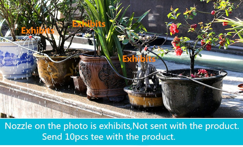 Flexible & Soft Micro Irrigation Water Hose Pipe for Gardening