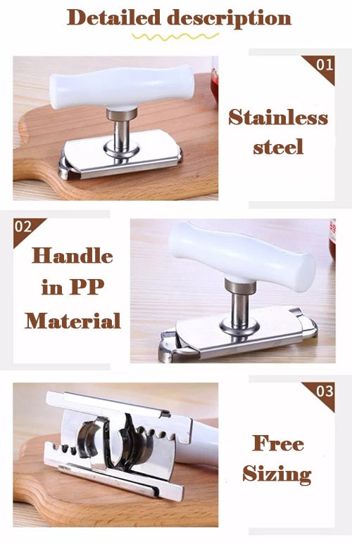 Multifunction Stainless Steel Can Opener