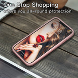 EXCLUSIVE Soft Rubber Shockproof Full Protective Case for iPhone X XR XS Max 8 7 6 6S Plus