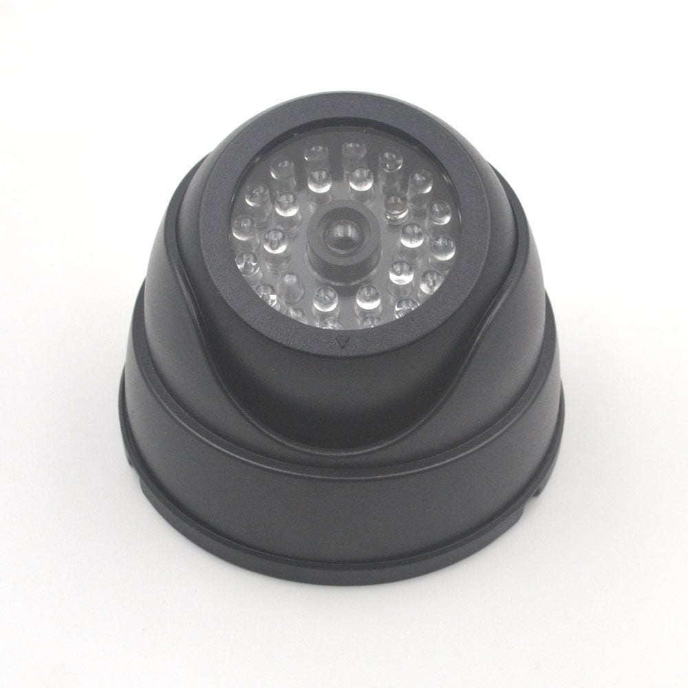 Home Surveillance Security Dome Mini Camera with Flashing LED Light