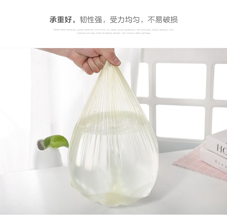 100pcs/pack Top Quality Household Disposable Plastic Bags