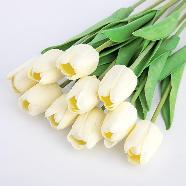 Beautiful 1Pc Real Touch Artificial Tulip Flower for Home/Wedding Decoration