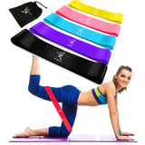 TRENDY Fitness Elastic Resistance Rubber Bands for Gym Yoga Workout