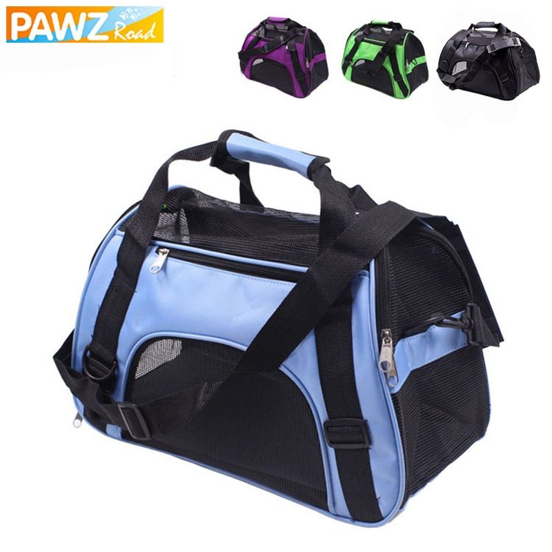 Portable & Breathable Small Pet Dog Backpack Carrier Bags for Travel