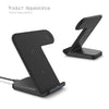 ADVANCED 10W Qi Wireless Charger for iPhone XS XR X 8 Plus Apple Watch Samsung S10 S9