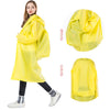 Universal Waterproof  Plastic Thick Hooded Rain Coats for Women\Men