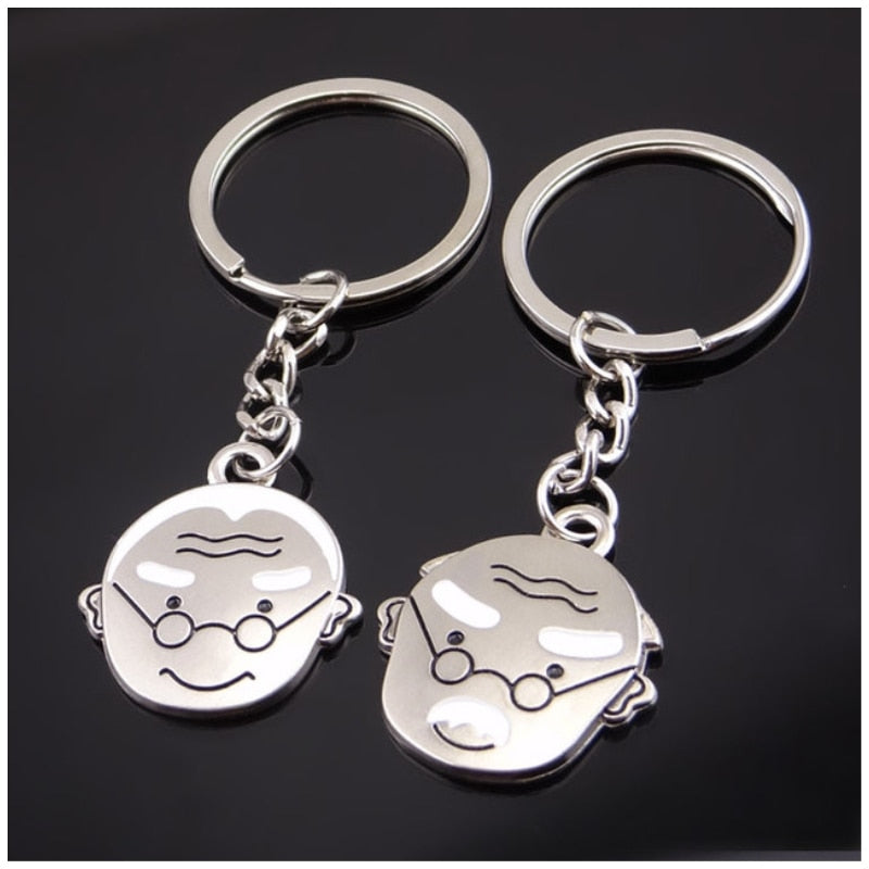 Fashionable Meta Lovers Key Ring