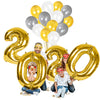 Foil Balloon Set for New Year Party Decoration