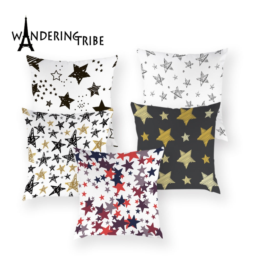 Colorful Geometric Nordic Design Boho Cushions Cover