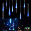 Waterproof 30/50cm Meteor Shower Rain Design LED String Lights for Tree/Party Decoration