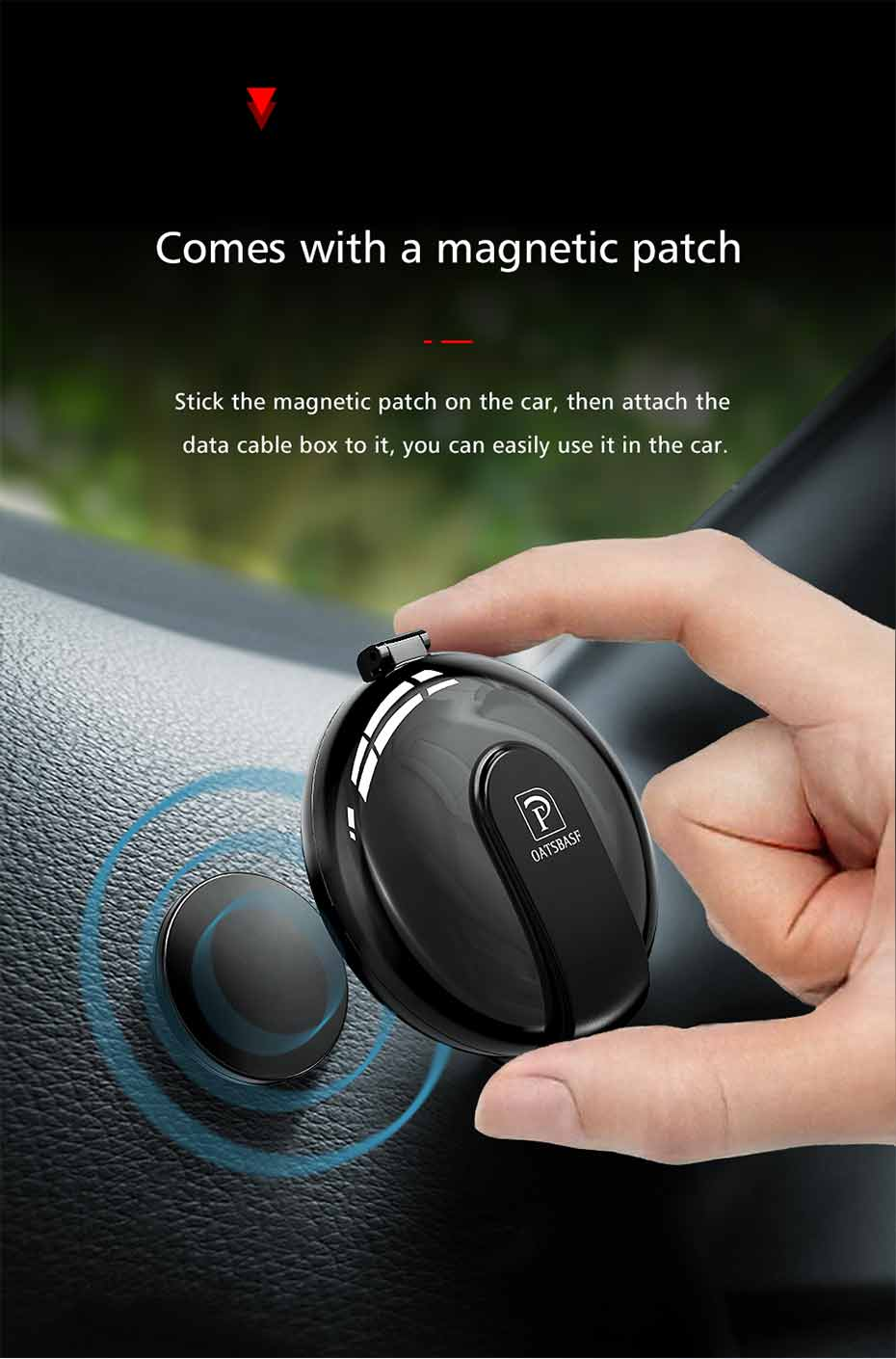 Fast Charger 3 in 1 Magnetic Cable For iPhone XS Max X  Xiaomi Huawei Samsung