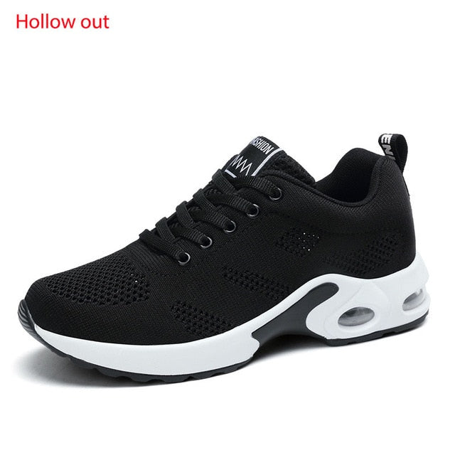 Fashionable Lightweight Running Lace Up Outdoor Sports Shoes for Women