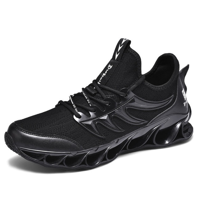 Stylish High-quality Lace-up Breathable Outdoor Men's Running Shoes
