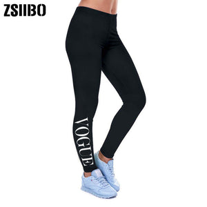 Summer Mid Waist Black Legging Activewear For Women