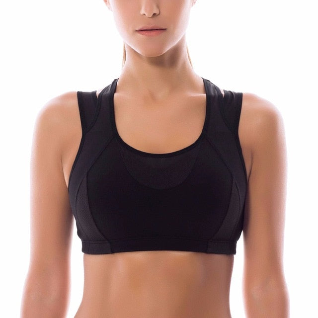 Women's High Impact Support Wirefree Workout Sports Bra