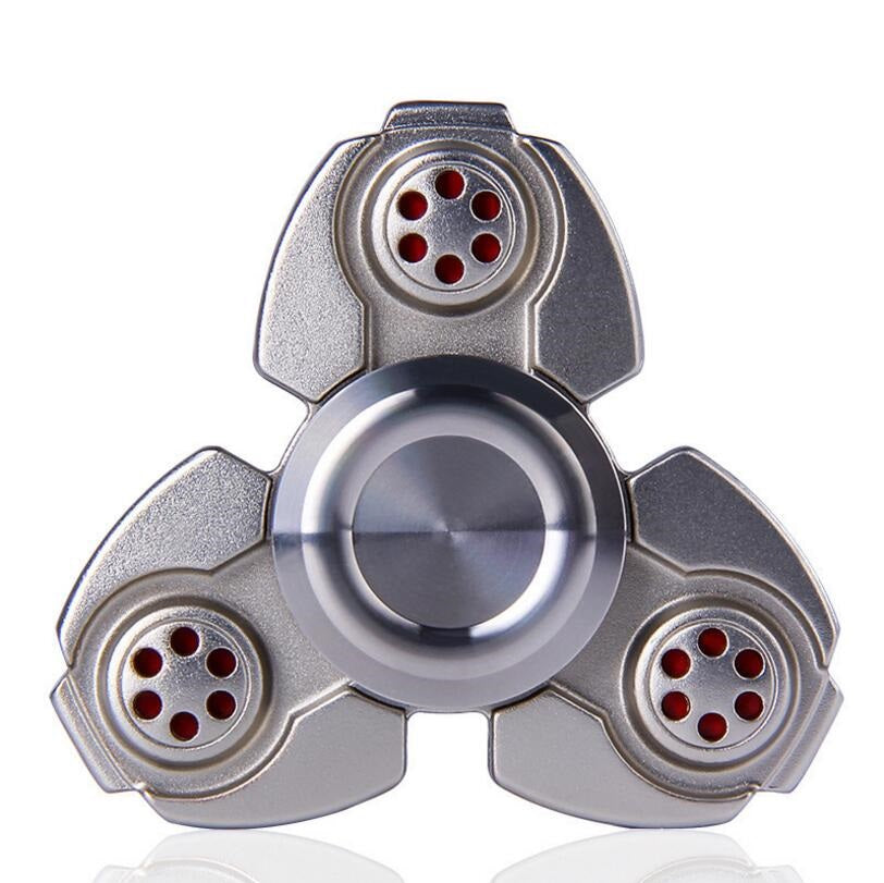 Anti-Anxiety Stress Relieve Triangle EDC Metal Hand Spinner Toys for Adult