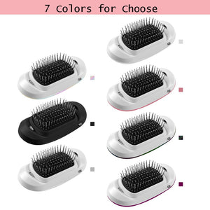 New Version Potable Negative Ions Electric Ionic Hairbrush