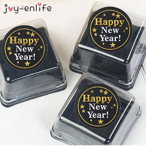 60pcs 2020 New Year Paper Sticker for Labelling Gift Boxes