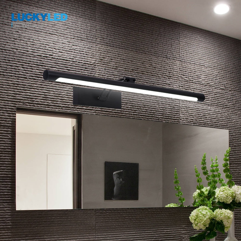 Waterproof 8W 12W AC90-260V Stainless Steel Industrial Mounted Wall Lamp