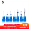 Electric Ceramic Diamond Nail Drill Bits for Manicure/Pedicure Machine