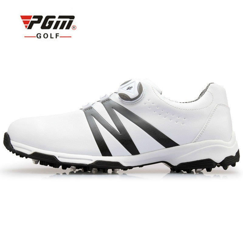 Super Leather Waterproof Breathable Anti Skid Golf Shoes