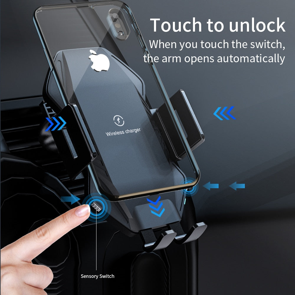 Fast Selling Qi Wireless Car Charger for iPhone
