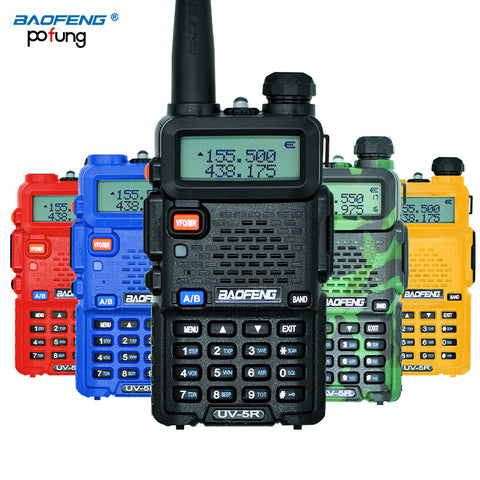 Professional UV-5R 5W VHF UHF Walkie Talkie