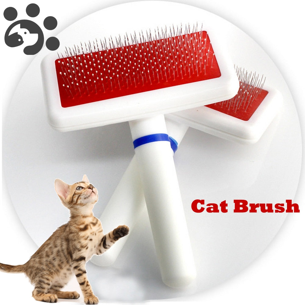 Hot Selling Needle Brush Grooming Tool for Cats