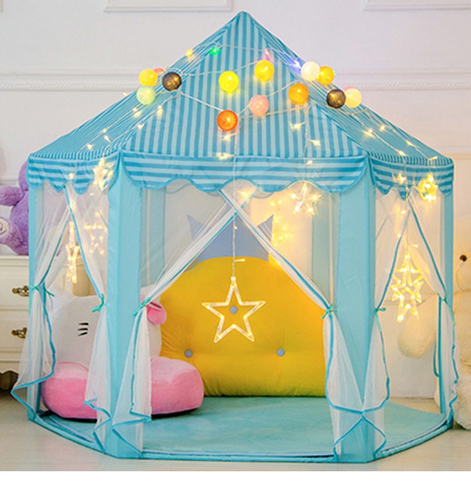 Lovely Princess Castle Tent for Indoor and Outdoor Fun