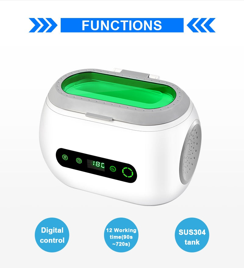 Digital Control Ultrasonic Cleaner for Jewelry