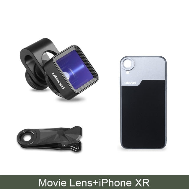 1.33X Anamorphic Phone Lens for iPhone 11 Pro Max Huawei P20 Pro Mate