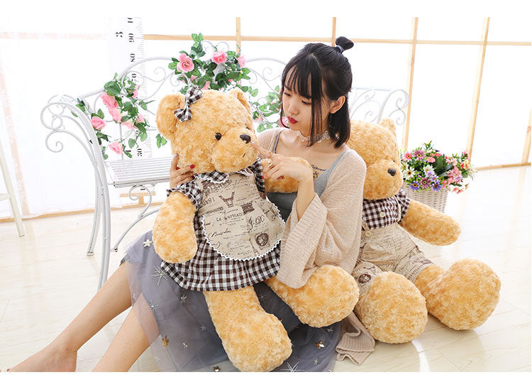 High Quality 60-80cm Stuffed Soft Teddy Bear Doll