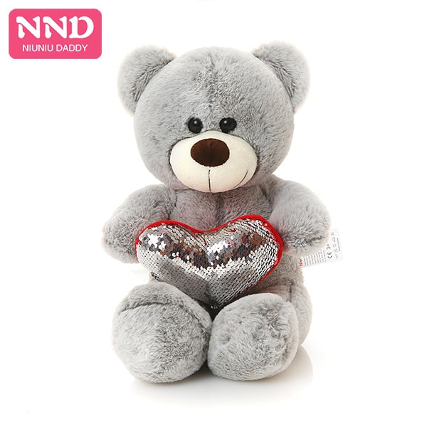 Hot Selling 50cm Holding LOVE Heart Teddy Bear Stuffed Soft Animal Plush Toy