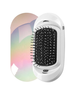 Portable Double Negative Ions Electric Ionic Hairbrush Hair Styling Tools