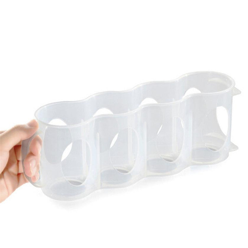 Space-saving Portable Rack Organizer Refrigerator Storage Beverage Box for Cans